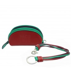 Purse with straps keyring - RED - MINT
