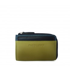 Cardholder Troika - DIJON - DARK BLUE - BROWN