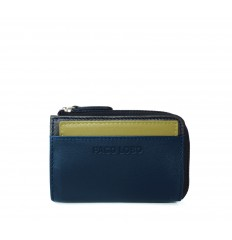 Cardholder Troika - DARK BLUE - BROWN - DIJON