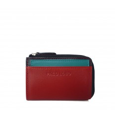 Cardholder Troika - RED - BLACK - TURQUOISE
