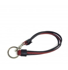 Keyring/Wristband IPD - BLACK - RED