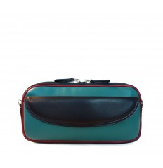 Case-Pouche tricolor IPD - TURQUOISE - BLACK - RED