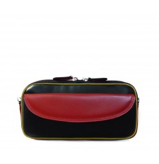 Case-Pouche tricolor IPD - BLACK - RED - DIJON
