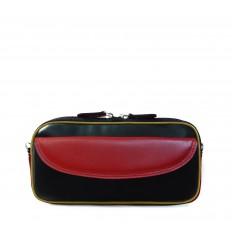 Case-Pouche tricolor IPD - BLACK - RED - DIJON