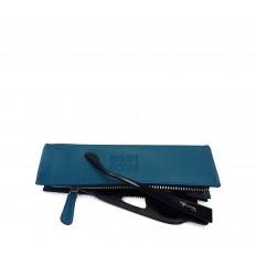 Zipped cover - LIGHT BLUE