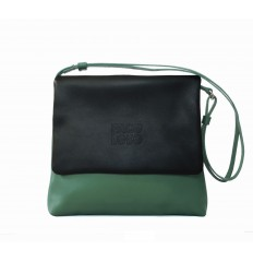 Shoulder bag Troika - BLACK-GREEN WATER-RED