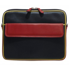 Tablet cover tricolor IPD - BLACK - RED - DIJON