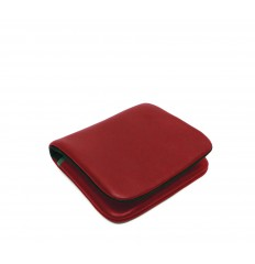 Purse Troika small - RED - BLACK - GREEN WATER