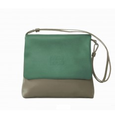 Shoulder bag Troika - GREEN WATER - MOLE - RED
