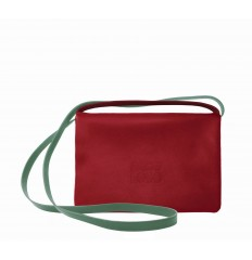 Clutch Troika - RED-GREEN WATER-MUSTARD