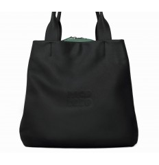 Shopping bag Troika - BLACK - GREEN WATER