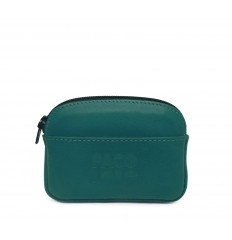 Purse with zipper - TURQUOISE
