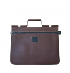 Briefcase with metal handle