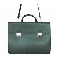 Double briefcase - Green