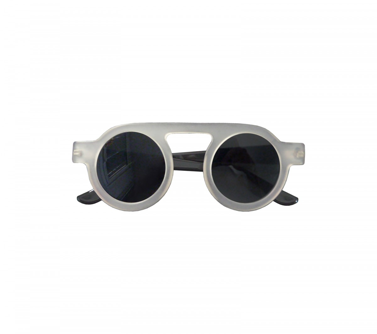 Glasses matt crystal-white