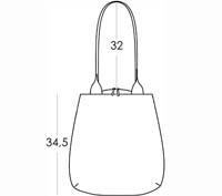 Size chart SHOPPING BAG TROIKA PACO LOBO